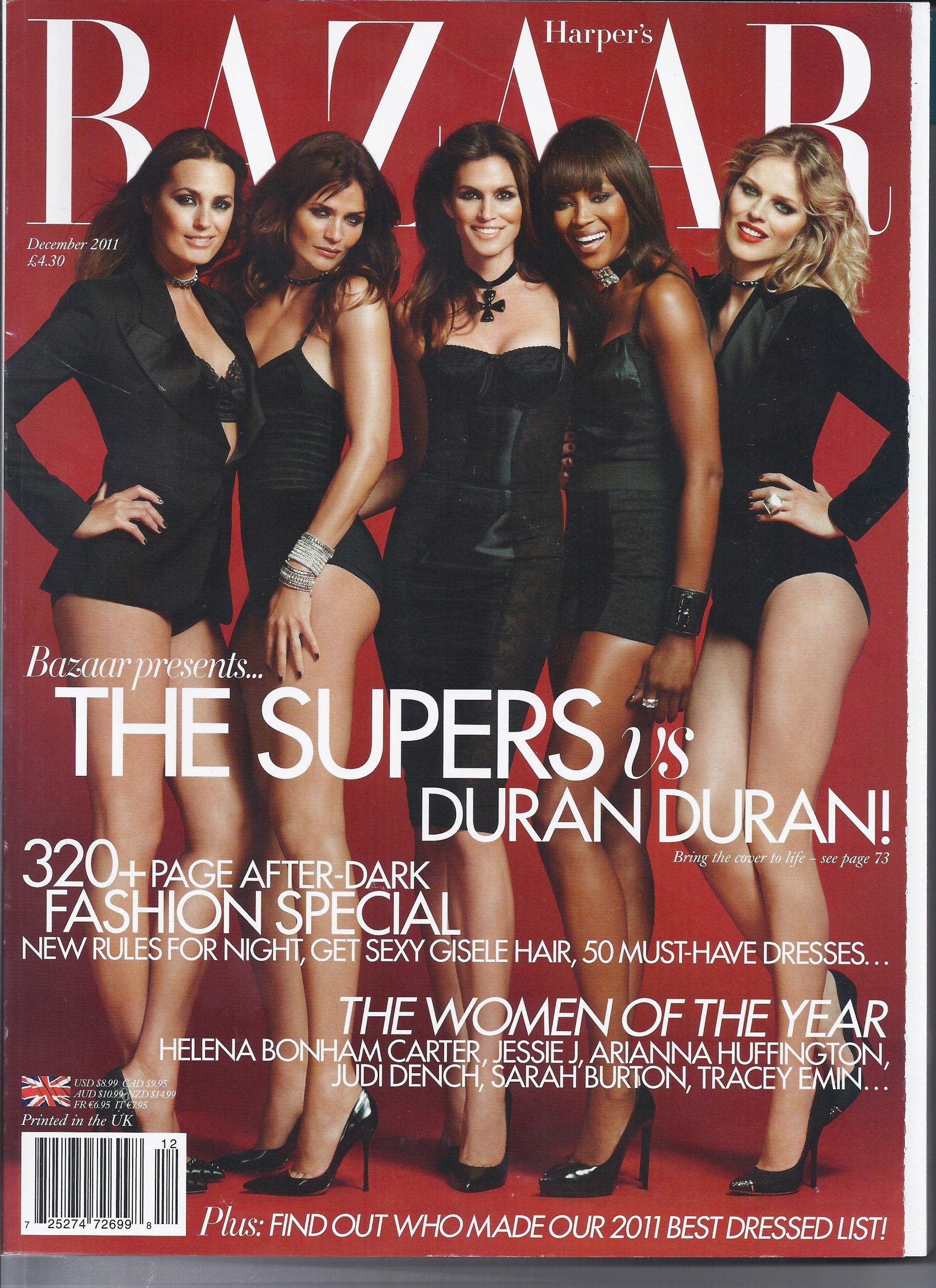 Bazaar--December 2011 Cover