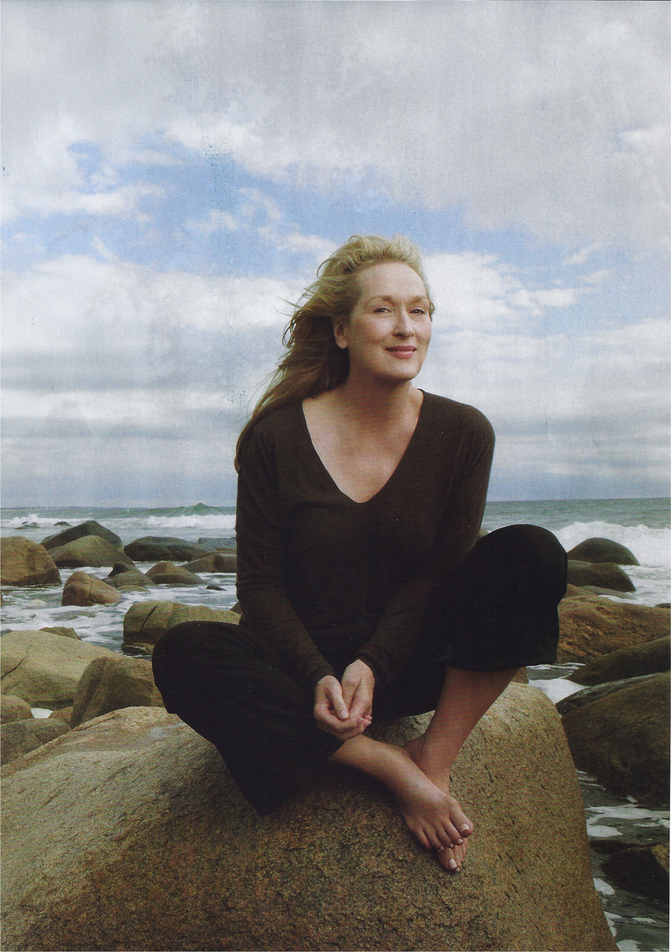 Vogue January 2012: Meryl Streep