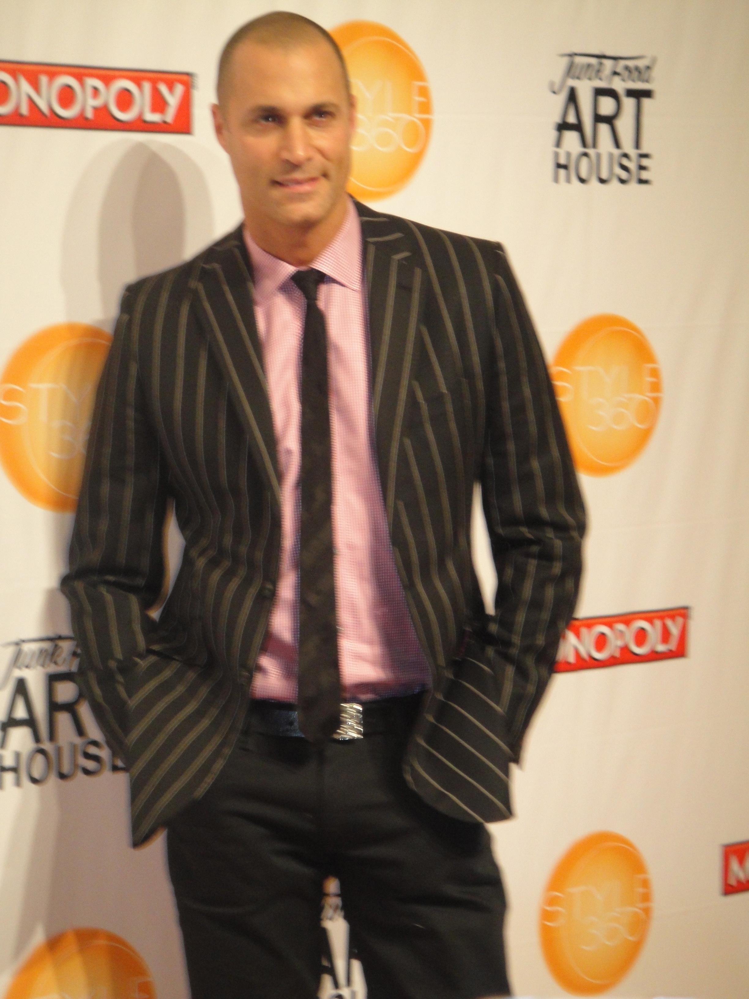 NYFW: Fashion Guest (ANTM- Nigel Barker)