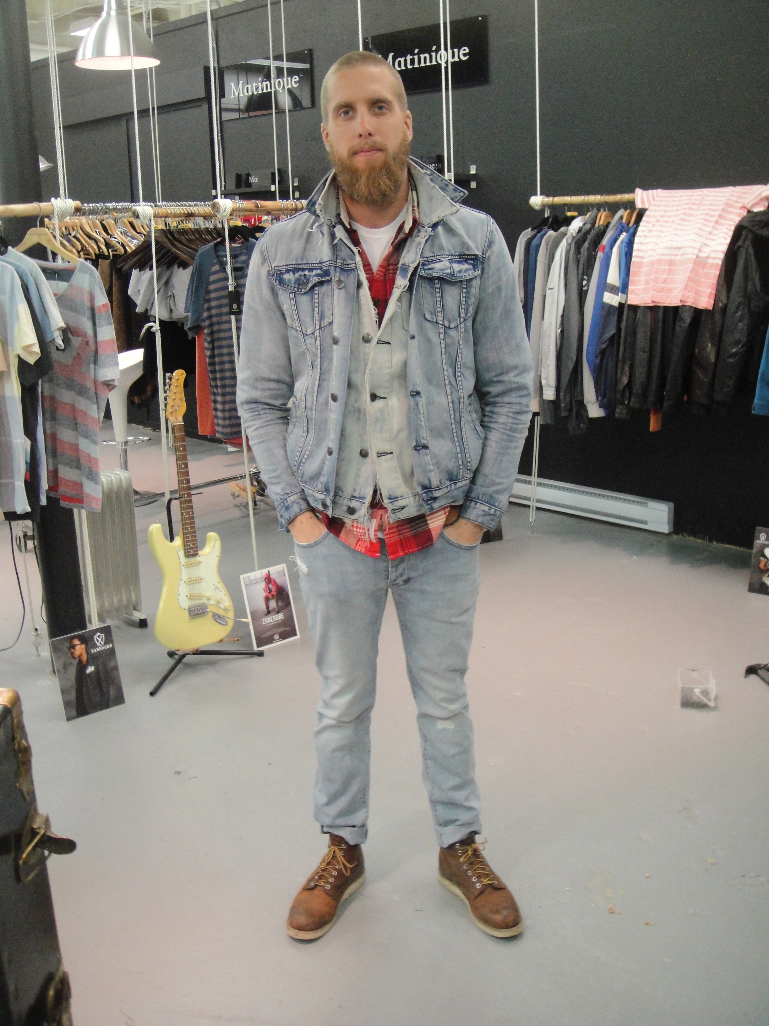 Daniel: Denim on Denim (don't be afraid, it rocks!)
